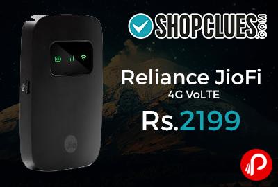 Reliance JioFi 4G VoLTE