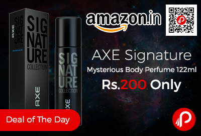 AXE Signature Mysterious Body Perfume 122m