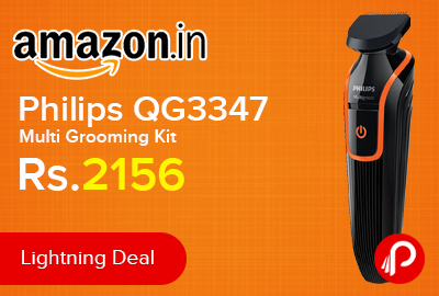 Philips QG3347 Multi Grooming Kit Just at Rs.2156 - Amazon