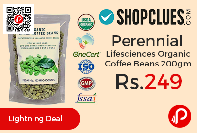 Perennial Lifesciences Organic Coffee Beans 200gm