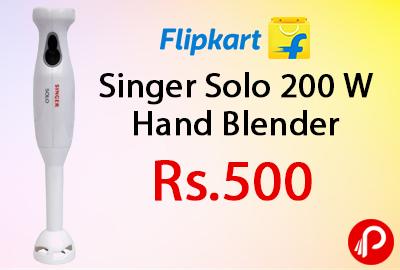 Singer Solo 200 W Hand Blender