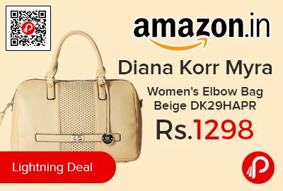 Diana Korr Myra Women's Elbow Bag Beige DK29HAPR