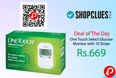One Touch Select Glucose Monitor