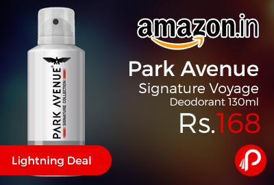 Park Avenue Signature Voyage Deodorant 130ml