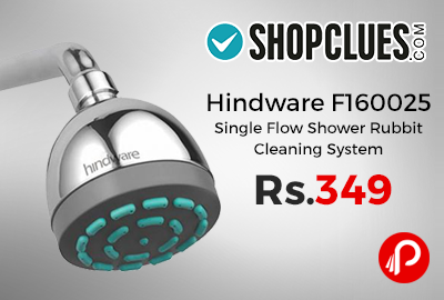Hindware F160025 Single Flow Shower Rubbit Cleaning System