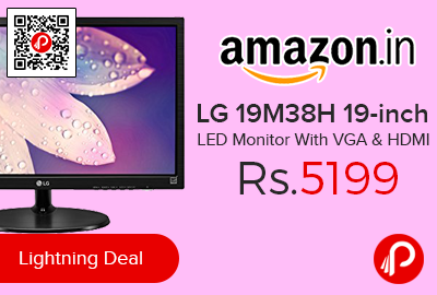 LG 19M38H 19-inch LED Monitor With VGA & HDMI