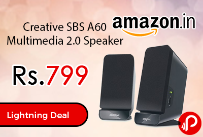 Creative SBS A60 Multimedia 2.0 Speaker