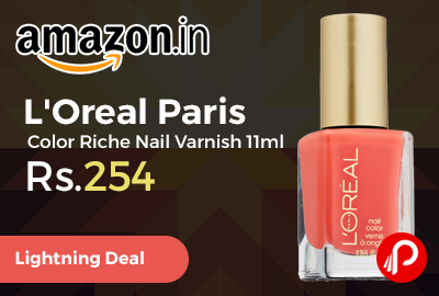 L'Oreal Paris Color Riche Nail Varnish 11ml
