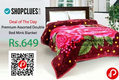 Premium Assorted Double Bed Mink Blanket