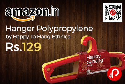 Hanger Polypropylene by Happy To Hang Ethnica