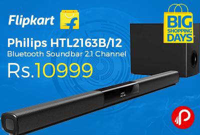 Philips HTL2163B/12 Bluetooth Soundbar 2.1 Channel