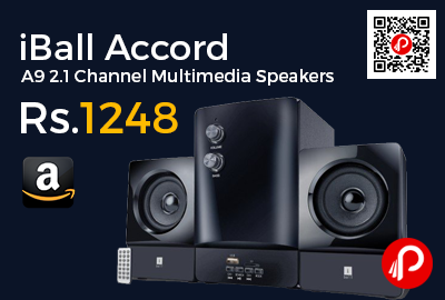 iBall Accord A9 2.1 Channel Multimedia Speakers