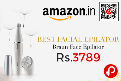 Braun Face 810 Facial Epilator Facial Cleansing Brush