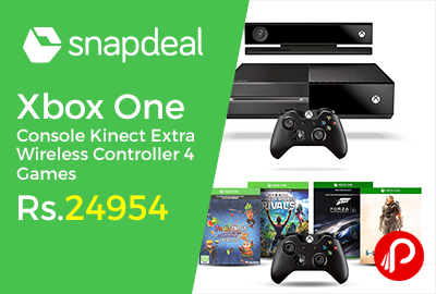 Xbox One Console Kinect Extra Wireless Controller 4 Games