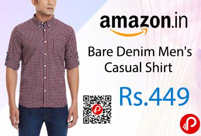 Bare Denim Men's Casual Shirt