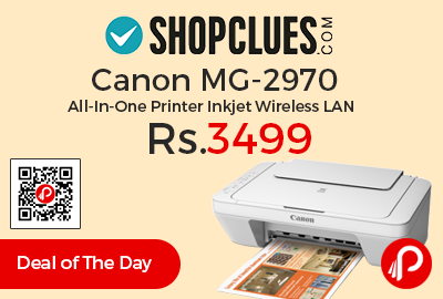 Canon MG-2970 All-In-One Printer Inkjet Wireless LAN