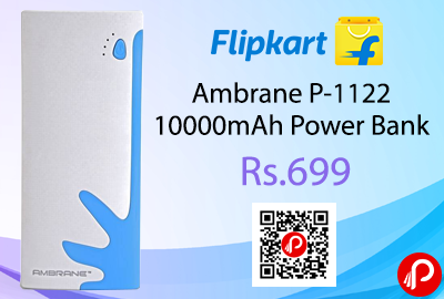 Ambrane P-1122 10000mAh Power Bank