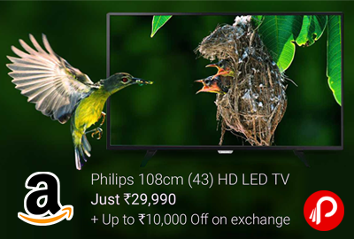 "Philips 43PFL4351/V7 43"" Full HD LED TV 4x HDMI 2x USB"
