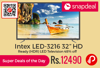 "Intex LED-3216 32"" HD Ready (HDR) LED Television"