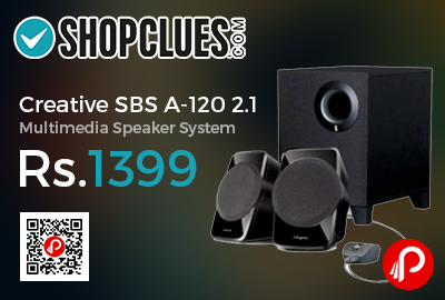 Creative SBS A-120 2.1 Multimedia Speaker System
