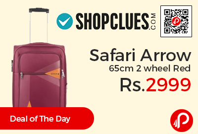 Safari Arrow 65cm 2 wheel Red