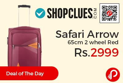 Safari Arrow 65cm 2 wheel Red