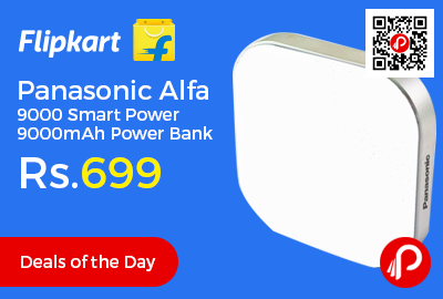 Panasonic Alfa 9000 Smart Power 9000mAh Power Bank