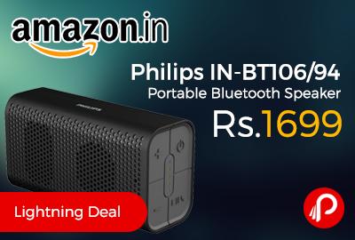 Philips IN-BT106/94 Portable Bluetooth Speaker