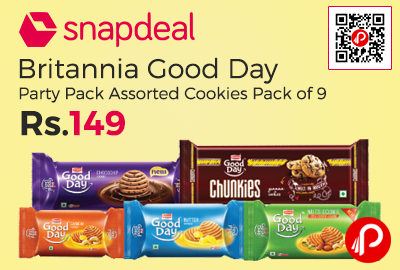 Britannia Good Day Party Pack Assorted Cookies