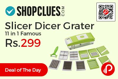 Slicer Dicer Grater 11 in 1 Famous