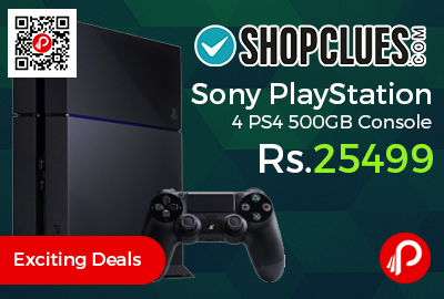 Sony PlayStation 4 PS4 500GB Console