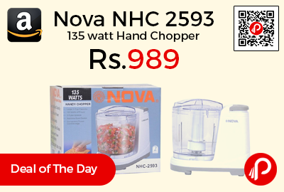 Nova NHC 2593 135 watt Hand Chopper