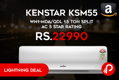 Kenstar KSM55.WN1-MDA/QDL 1.5 Ton Split AC 5 Star Rating