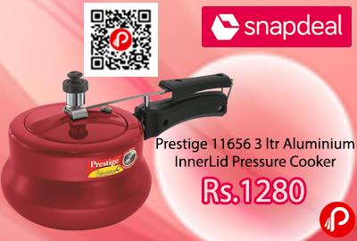 Prestige 11656 3 ltr Aluminium InnerLid Pressure Cooker