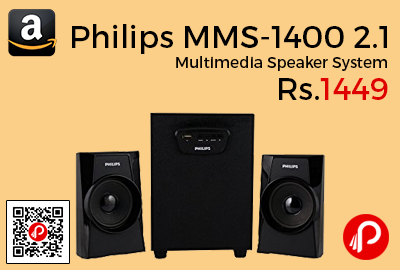 Philips MMS-1400 2.1 Multimedia Speaker System