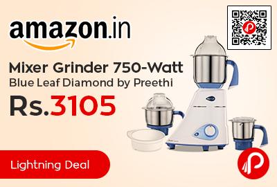 Mixer Grinder 750-Watt Blue Leaf Diamond