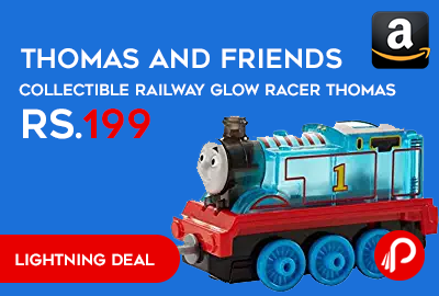 Thomas and Friends Collectible Railway Glow Racer Thomas