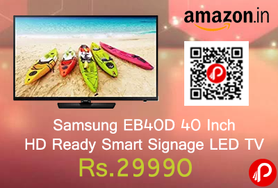Samsung EB40D 40 Inch HD Ready Smart Signage LED TV