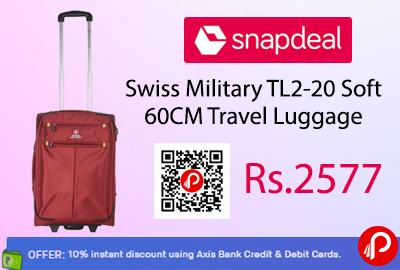 Swiss Military TL2-20 Soft 60CM Travel Luggage
