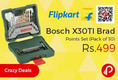 Bosch X30TI Brad Points