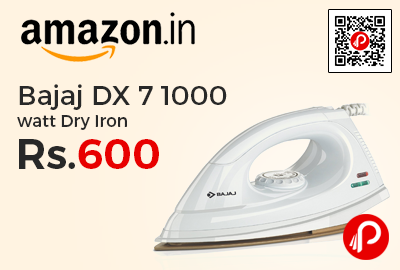 Bajaj DX 7 1000 watt Dry Iron