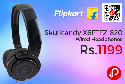 Skullcandy X6FTFZ-820 Wired Headphones