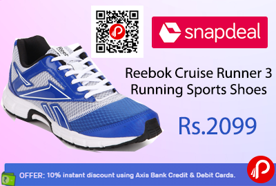 Reebok Cruise Runner 3 Running Sports Shoes