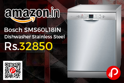 Bosch SMS60L18IN Dishwasher Stainless Steel