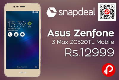 Asus Zenfone 3 Max ZC520TL Mobile