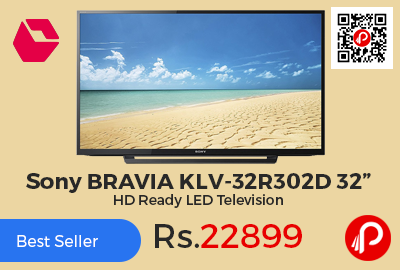 "Sony BRAVIA KLV-32R302D 32"" HD Ready LED Television"