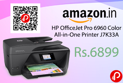 HP OfficeJet Pro 6960 Color All-in-One Printer J7K33A