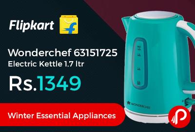 Wonderchef 63151725 Electric Kettle 1.7