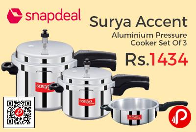 Surya Accent Aluminium Pressure Cooker