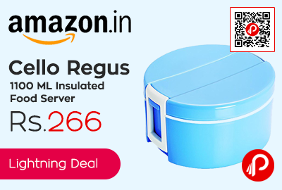 Cello Regus 1100 ML Insulated Food Server